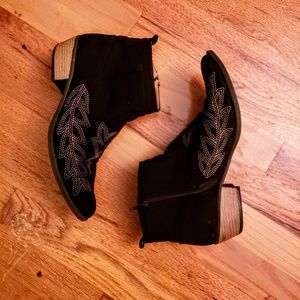 Southwestern style booties